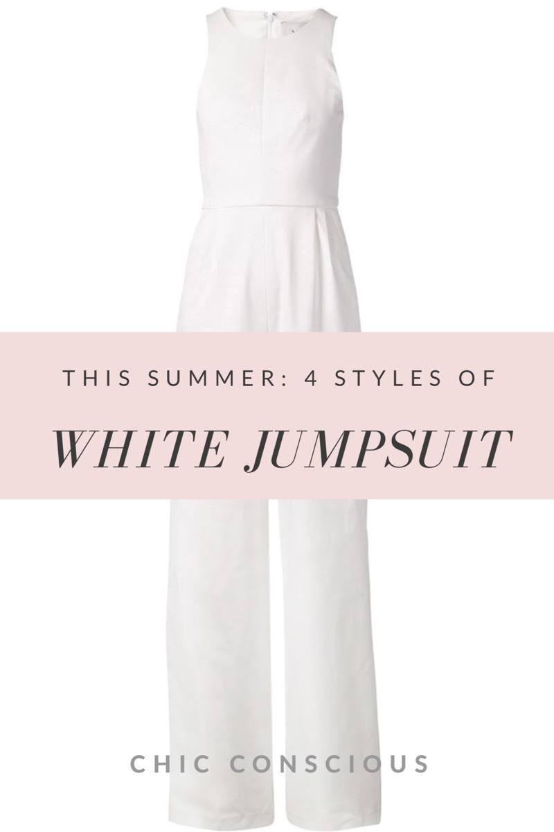 White Jumpsuit.
